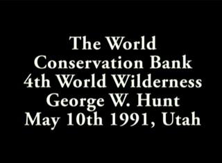 George Hunt Speaks in Utah, May 10th, 1991
