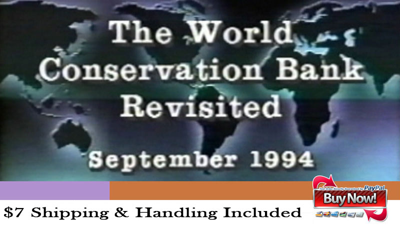 World Conservation Bank: Revisited Ad