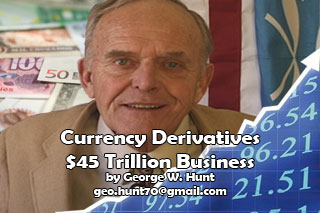 Currency Derivatives – $45 Trillion Business