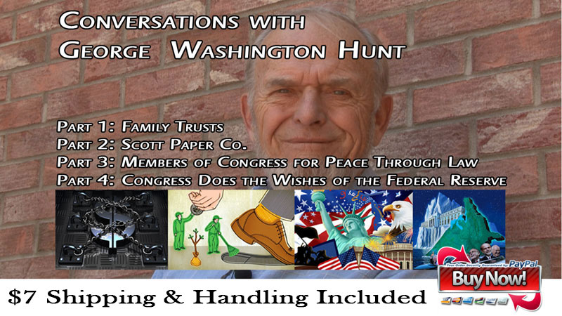 Conversations with George W. Hunt Ad