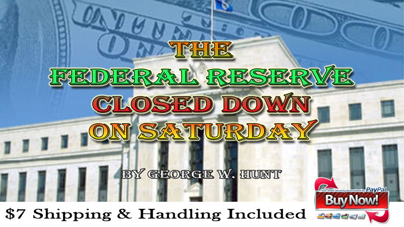 Federal Reserve Closed Saturday Ad