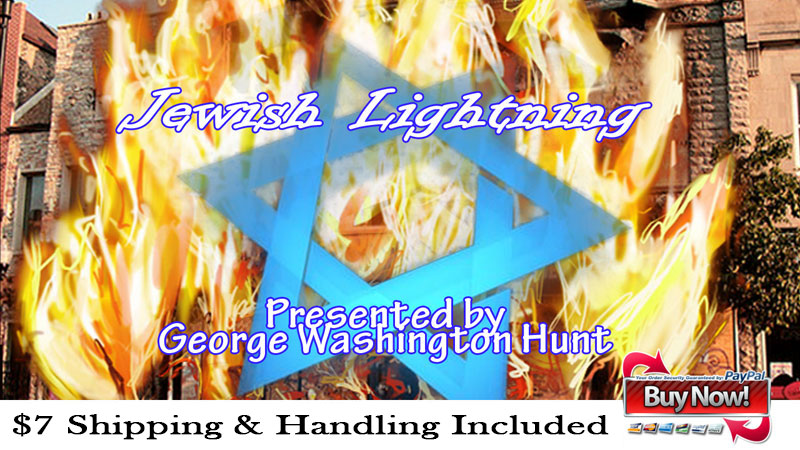 George Hunt presents Jewish Lightning Ad
